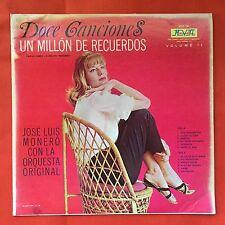 Jose Luis Monero La Orquesta Original Doce Canciones V2 Bolero Puerto Rico MINT-