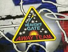EMBROIDERED HEAVEN'S GATE AWAY TEAM PATCH