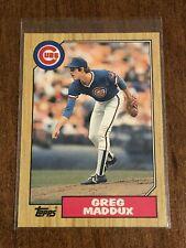 2005 Topps Heritage Chrome//1956 #THC56 Greg Maddux Chicago Cubs Baseball Card