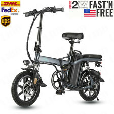 """Fiido L2 14"""" Electric Folding Ebike, 350W Aluminum Electric Bicycle with Pedal"""