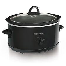 Crock-Pot 7-Quart Manual Slow Cooker, Black SCV700-B2-WM1
