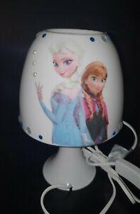 Eiskönigin Tischlampe Frozen Lampe Nachtlicht Kinderzimmer Deko Serviette Elsa