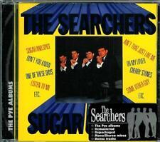 """SEARCHERS  """" Sugar and Spice + 6 """"  mono + stereo CD"""