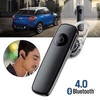 Sports Wireless Stereo Earphone Bluetooth V4.0+EDR Headphone For iPhone 6 BLK KJ