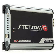Stetsom EX6000EQ - 1 Channel 6700 Watts RMS  1 Ohm Car Amplifier
