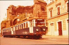 R7 - Dia slide 35mm original Italy Italia Rome Roma 1978: interlocal tramcar