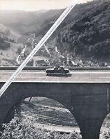 Wiesensteig - Autobahn A8 Albaufstieg - Schwaben Württemberg - um 1965 .. R20-12