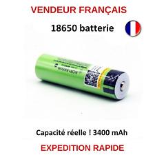 18650 PILE BATTERIE ACCU 3400 mAh 3.7V LI-ON LIITOKALA CAPACITE REELLE