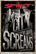 THE SPIRIT ~ MY CITY SCREAMS 24x36 MOVIE POSTER Frank Miller Will Eisner Comic