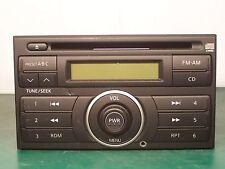 NISSAN VERSA FRONTIER XTERRA RADIO CD PLAYER WITH AUX INPUT 28185-EM31A CY40D