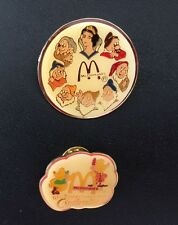 Disney's Snow White and the 7 Dwarfs & Cinderella's Mice Pins by McDonalds