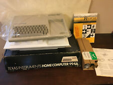 Texas Instruments Computer TI-99/4A, Never used, still sealed in plastic w box