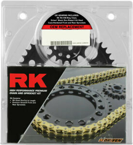 RK XSO RX-Ring 520 Chain/Sprocket Kit (15/45) 2008-2014 Ducati Monster 696
