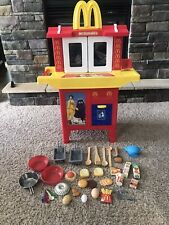 Vintage McDonald's Drive Thru Pretend Kitchen Playset With Sound And Food