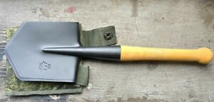 Russian Soviet Sapper spade small infantry steel shovel MPL-50 with case