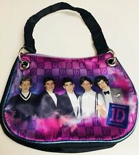 Girls Small Purple Purse 1D One Direction Boy Band Music Group