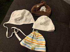 Babymütze Neugeborenem Baby 👶 Gr.50-56 4 Stück