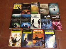 Lot de 14 Livres de Poche * LDP * Thriller + Policier * Bon Etat Général +++
