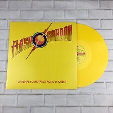 "Queen - Flash Gordon 12"" Yellow Coloured Vinyl Album (2015) - Studio Collection"