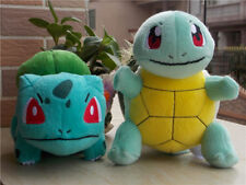 2016 New Authentic TOMY Pokemon Bulbasaur & Squirtle Plush Doll Toy 2PCS