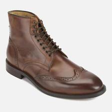 Hudson London Men's Greenham Leather Brogue  Boots - Cognac UK 8 EU 42 N08 34