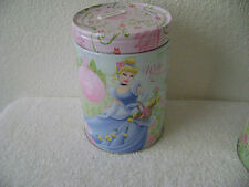 Disney Wishes and Dreams Tin Bank Canister New Mint