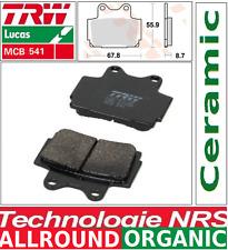 2 Plaquettes frein Arrière Organic TRW MCB541 Yamaha FZS 600 Fazer RJ02 98-03