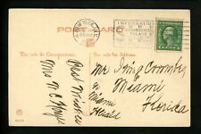 US Postal History #498 WF Postcard New Years Exposition Slogan 1922 New York NY