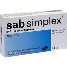 SAB simplex 240 mg Weichkapseln 60 St PZN 9422576
