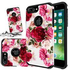 For Iphone 11 Pro 6 6s 7 8 Plus XR X Xs Max SE Red Floral Cute Girls Case