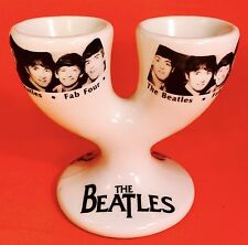 FUN! Beatles Egg Cup Staffordshire 1950s Retro Breakfast Dish Estate Vintage