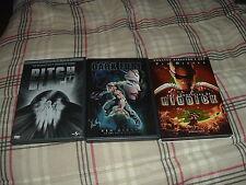 Pitch Black + the Chronicles of Riddick + Dark Fury 3 DVD LOT SET