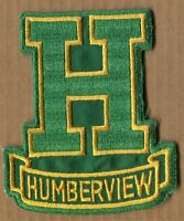 TORONTO Vintage HUMBERVIEW COLLEGIATE LOGO CREST cloth PATCH