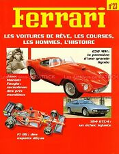 FERRARI 365 GTC 250 MM F1 86 GOZZI  Juan FANGIO Michele ALBORETO  - Fascicule 23