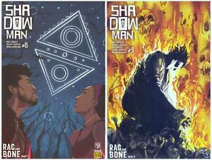 Shadowman- Rag and Bone Pt. 1&2 #8E/9B> Variant Covers> Valiant 2018>VF/NM>B&B
