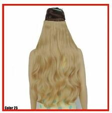 "Golden Blonde #25 Clip In Hair Extensions 24"" Princess Tresses"