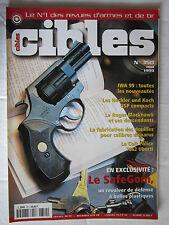 CIBLES N° 350 /IWA 99/HECKLER & KOCH USP COMPACTS/RUGER BLACKHAWK/FAB DE DOUILLE