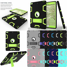 For Apple iPad 9.7 inch 5th 6th Gen 2018 Hybrid TPU Armor Shockproof Case Cover