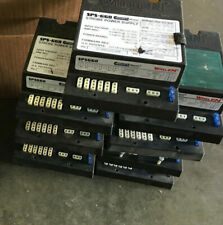 Lot of 9 Whelen Sps660 Competition Plus Power supplies