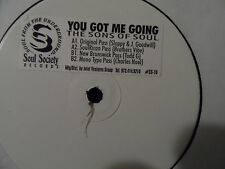 """The Sons of Soul - You Got Me Going 12"""" With REMIXES Sloppy J GOOGWILL Todd G"""