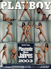 Playboy 12/2003 Dezember,Carmen Electra,Nadia Cherif,Dustin Hoffmann,+ KALENDER!