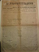 IL NUOVO CITTADINO LUGLIO 1938 ALBENGA SANREMO VENTIMIGLIA IMPERIA  I-8-174