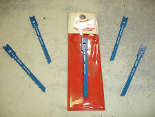 "(5) Milwaukee Jigsaw Blades 2-3/4"" 12 TPI 48-42-0650 $9 Swiss Made Narrow"