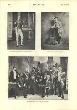 1896 M. George Bancroft M. Allan Aynsworth Miss Lily HANBURY portrait assis