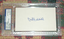Carl Hubbell PSA DNA Certified slabbed index card Hall of Fame New York Giants