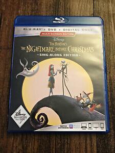 Disney Tim Burton's the Nightmare Before Christmas Multi screen Edition Blu Ray