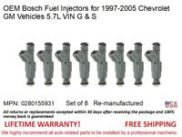 "1987-1992 SET of TWO Hi-Flow TBI /""Police Special/"" Fuel Injectors for 5.0L GMs"
