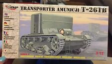 Mirage Hobby 1/72 T-26TB Ammunition Carrier # 72607 Parts are sealed!