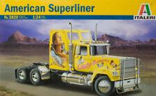 Italeri 3820 American Superliner Truck 1:24 Scale Plastic Kit