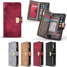 Kamille Zipper Wallet Case for Samsung Galaxy Note10 Note9 Note8 5 4 3 /Edge NEO